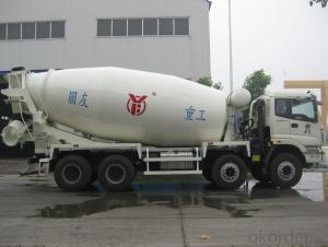 10m³  Concrete truck mixer / ISO & CE certificate