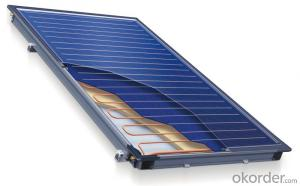 seperated flat plate solar collector solar thermal collector