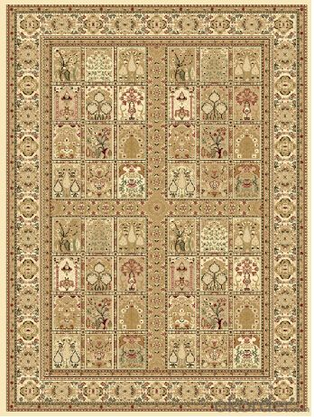 Machine Made Persian Style PP Wilton Carpet Area Rug