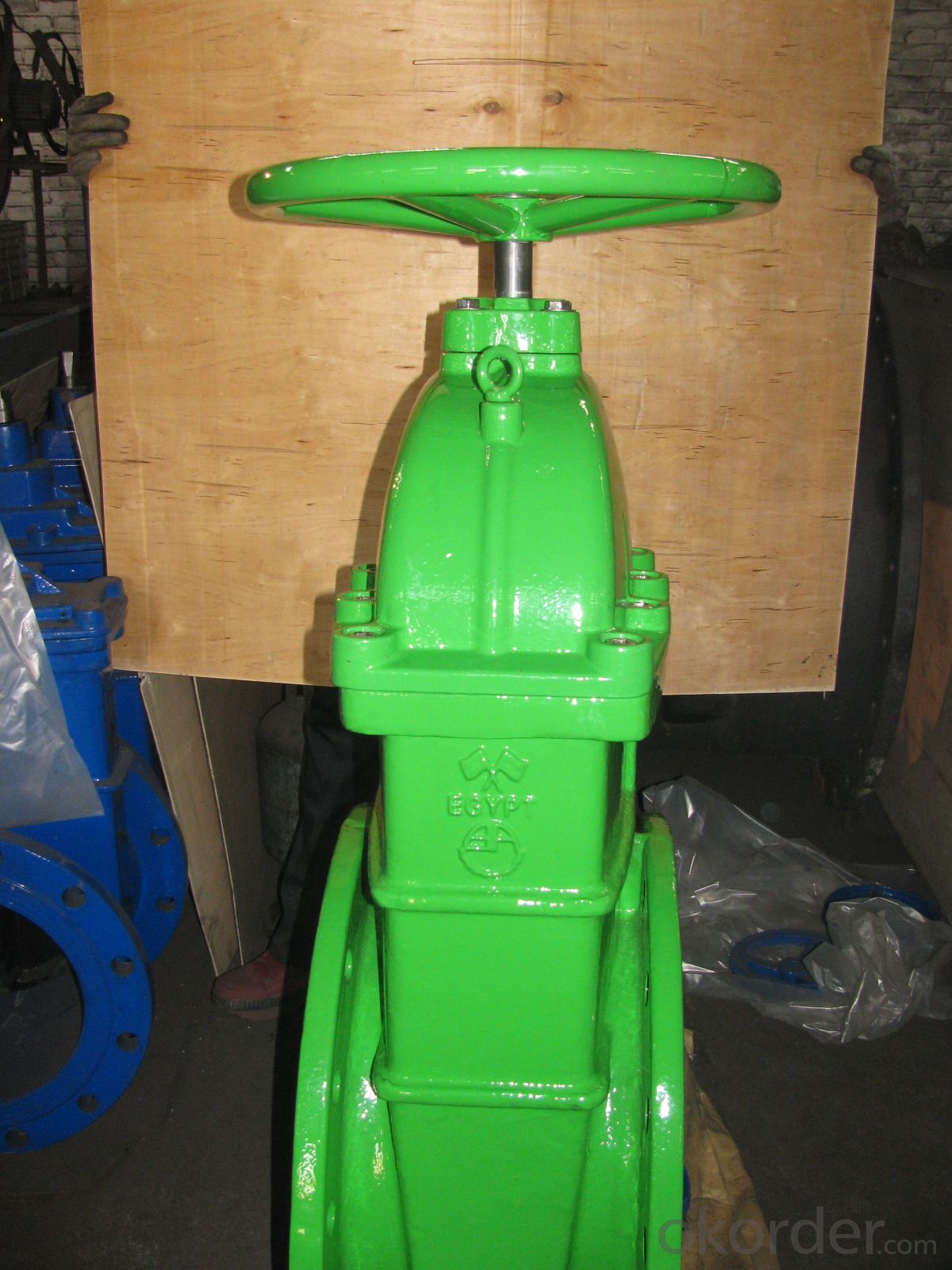 Buy Gate Valve Manual Resilient Wedge manufacturer DN80