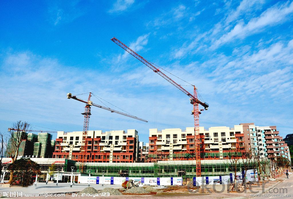QTZ125(6015) Flat-top tower crane cheap price