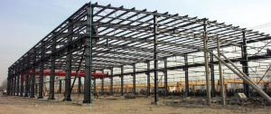 HEAVY STEEL STRUCTURE BUILDING AND PROJECT --BT- 001