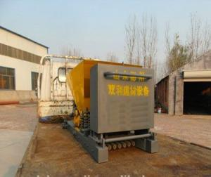 Prestressed concrete slab making machines
