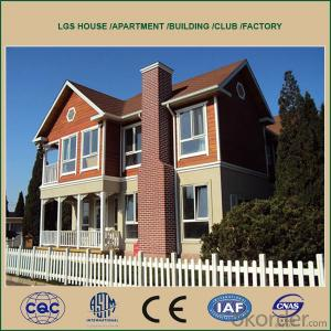 2015 prefab houses environment friendly lightweight EPS concrete sandwich panel