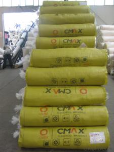 Thermal Insulation Fiber Glass For Building Roofing and Wall20KG/M3