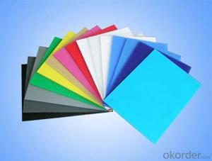 Electric Conductive Polypropylene Corrugated Sheet with diffferent thickness and colors