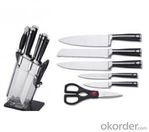 Art no. BLB16 Stainless steel knife set for kitchen