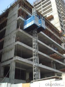 SC100/100 Building hoist for passenger and materials