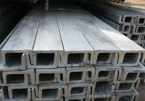 Channel Bar Hot Rolled Zinc Coated from Tianjin