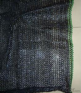 100% Polyester Black PE Mesh For Waterproofing Usage