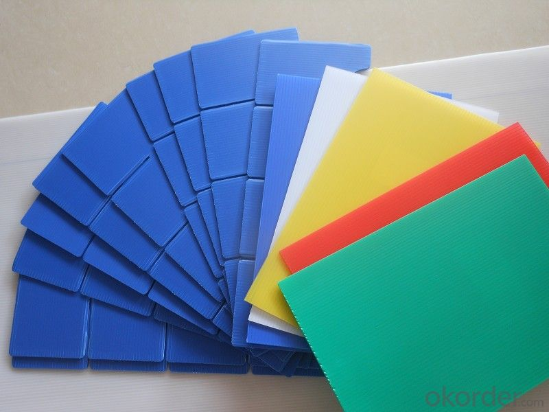 4mm-12mm Electric Conductive Polypropylene Hollow Sheet