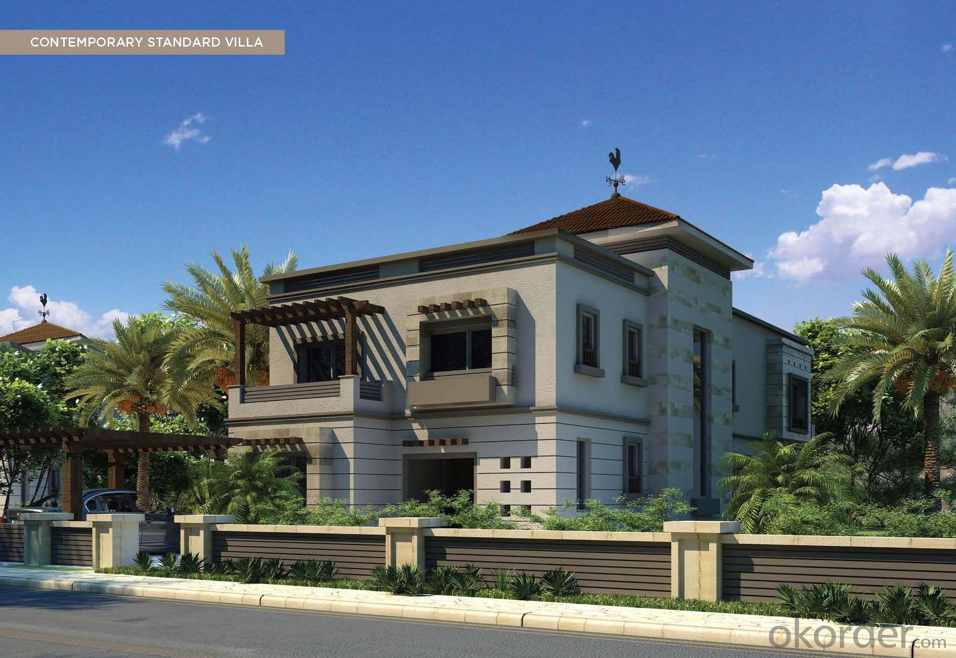 prefab house,luxur prefabricated villa design , green house