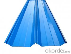 color steel single sheet /corrugated roof