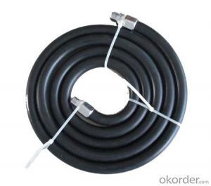 Concrete pump rubber hose, ISO9001:2008, Black NR,13-51MM