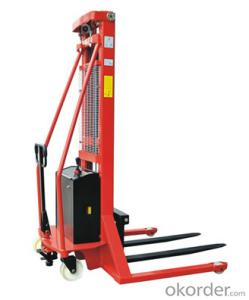 Semi-electric Stacker with Adjustable Fork--SPN1535-A/SPN1540-A