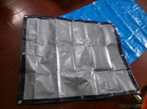 100% UV-treatted PE Tarpaulin Cover/ Quick Tent