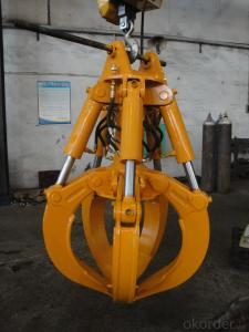 Excavator Bucket spare parts/Hydraulic Orange Peel Grab