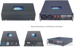 BV-100 Central Server for Support 12 channels of satellite TV