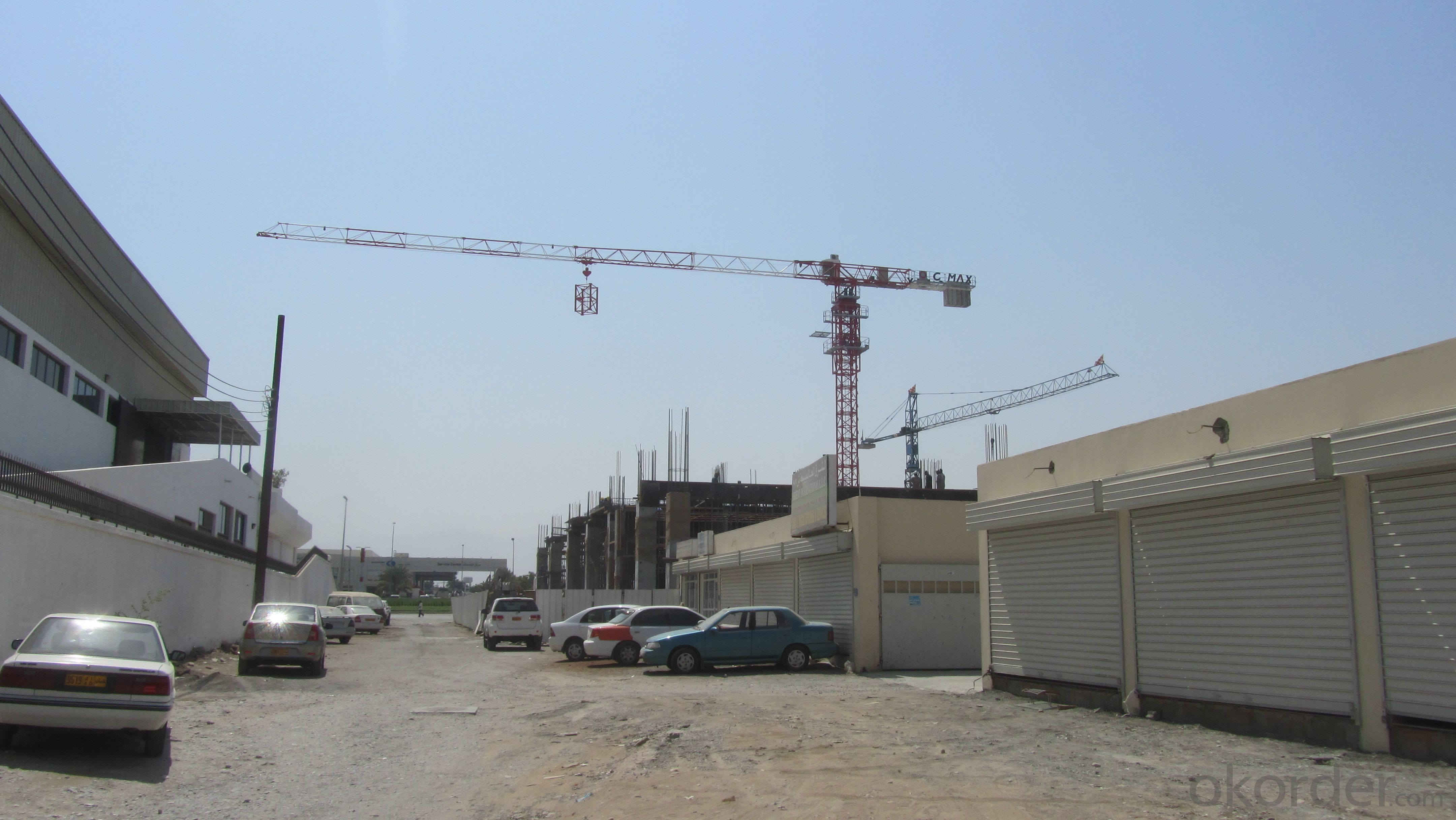 JLP6010 ToplessTower crane for construction site