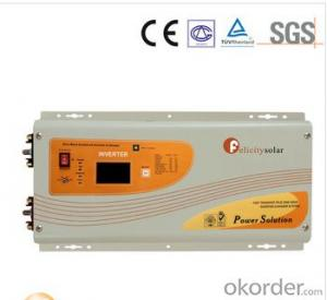 Solar Inverter, 3.5kva 24V High Quality/Reasonable Price pure Sine Wave Solar Inverter