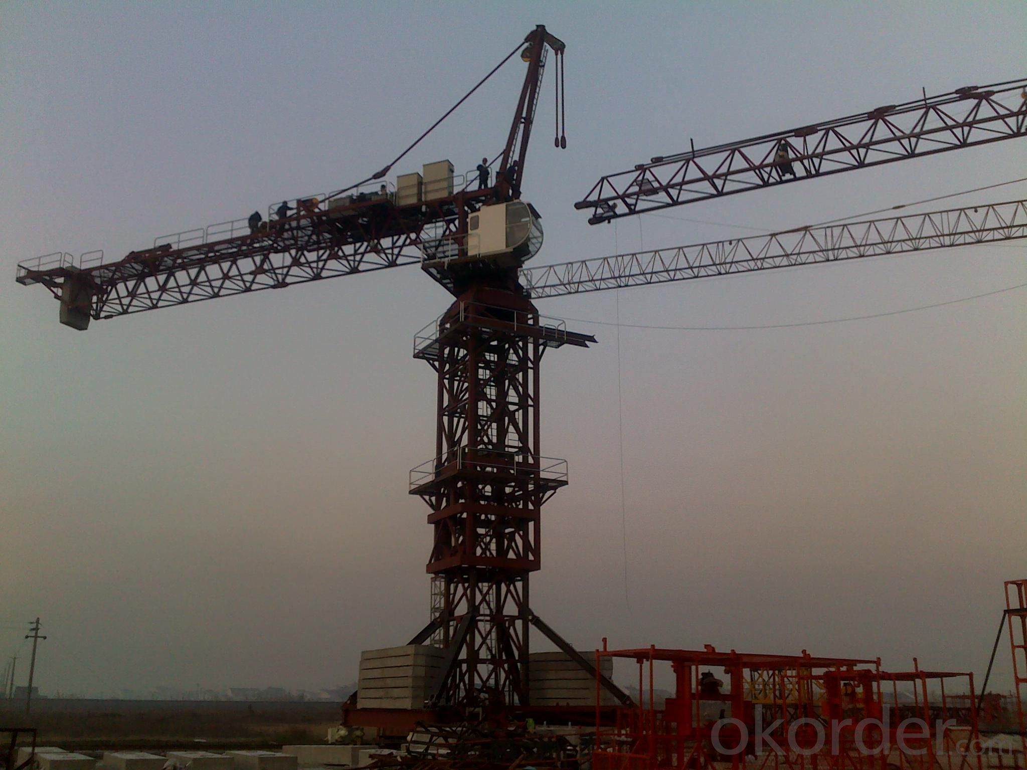 JL7050 Topkit Tower crane for construction site