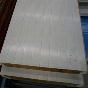 Rock wool sandwich panels for low cost wall cladding and roof of prefabricated house