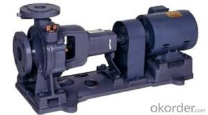 Horizontal End Suction Centrifugal Pumps