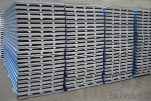 POLYURETHANE FOAM HEAT INSULATION sandwich panel