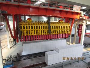 200,000m3 / year German Technology AAC Block Production Line