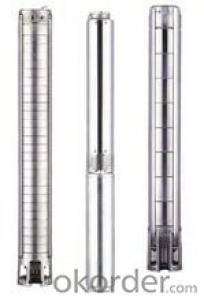 Various 4inch 6inch Deep-well Stainless Steel Submersible Pump(ESP)