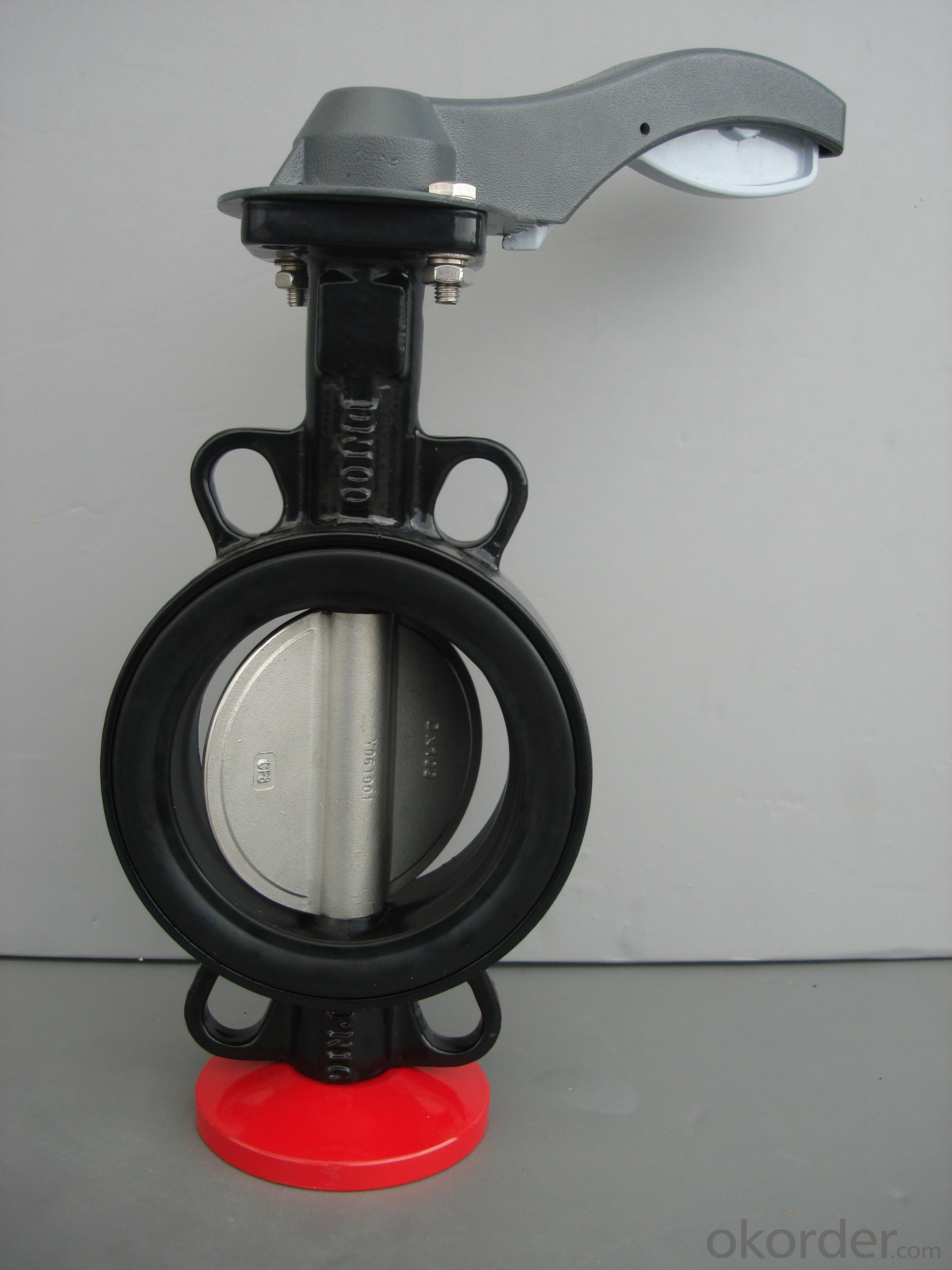 Butterfly Valve GGG50 Ductile Iron Wafer Hand lever