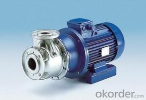 Self Priming Sewage centrifugal water pump
