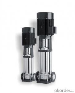 Vertical Multistage Centrifugal Pumps with High qualities