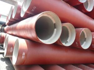 EN598 Ductile Iron Pipe  DN200 For Waste Water