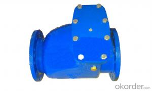 Ductile Iron Swing Check  Valve For Drinking Water