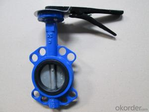 EN598 Soft Seal  Non-risings Butterfly Valve