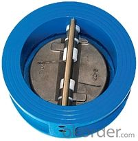 Ductile Iron Wafer Check Valve For  Water