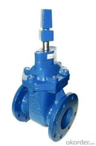 DIN3352 F4 Soft Seal  Non-risings Gate Valve