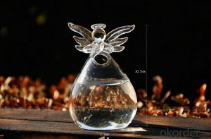 Home decoration angel vase,High quality cheap price