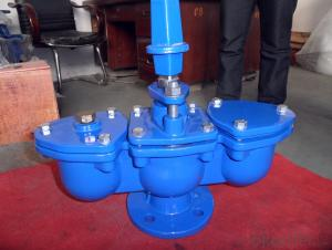 Ductile Iron Doulbe Air Valve For Drinking Water
