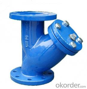 Ductile Iron Y-Strainer  For Drinking Water