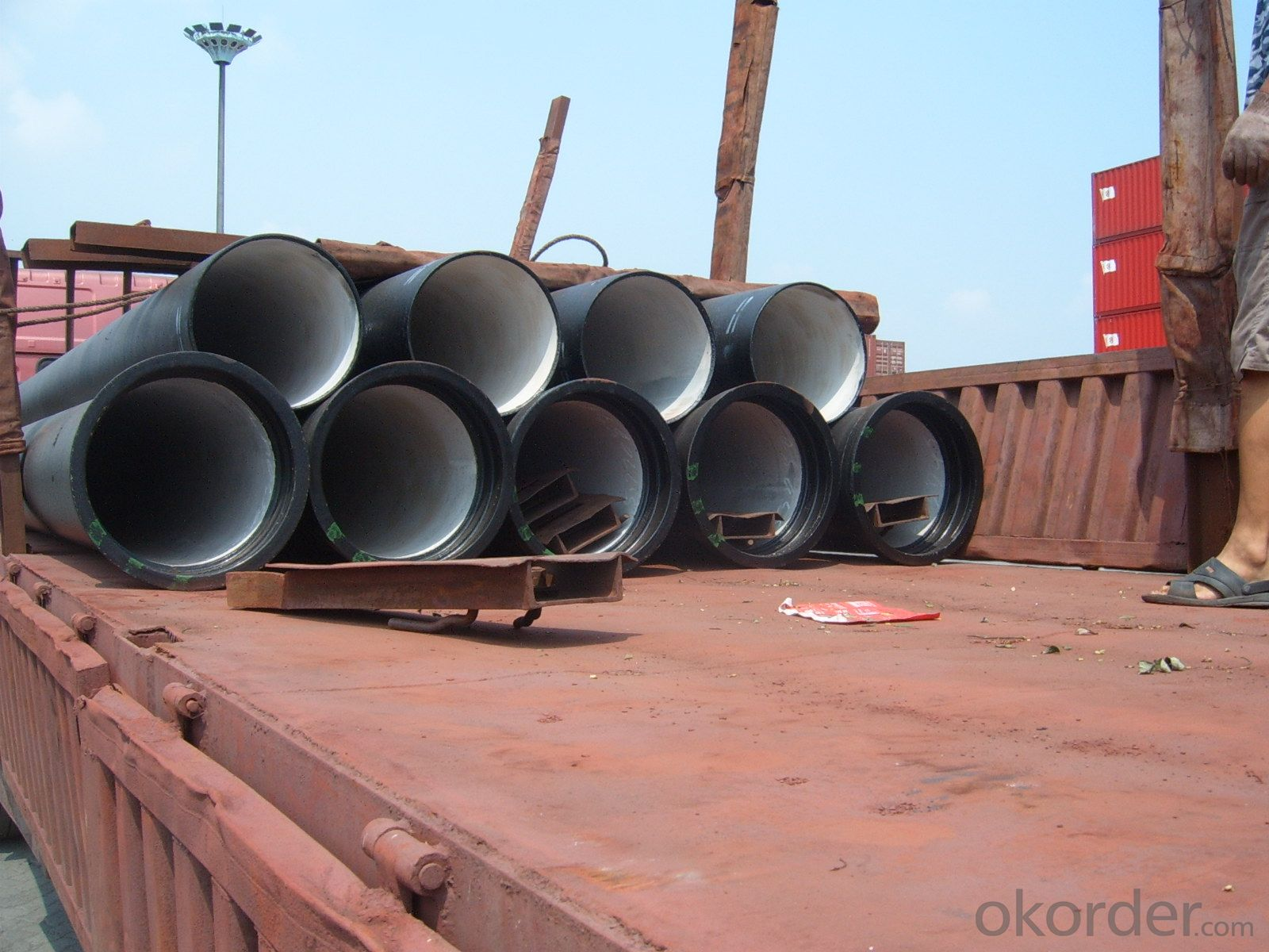 ISO2531:2009 Ductile Iron Pipe C Class DN700