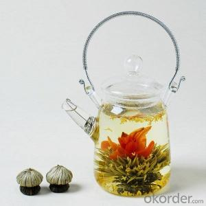 Artistic Flower Blooming Tea --Butterfly with flowers