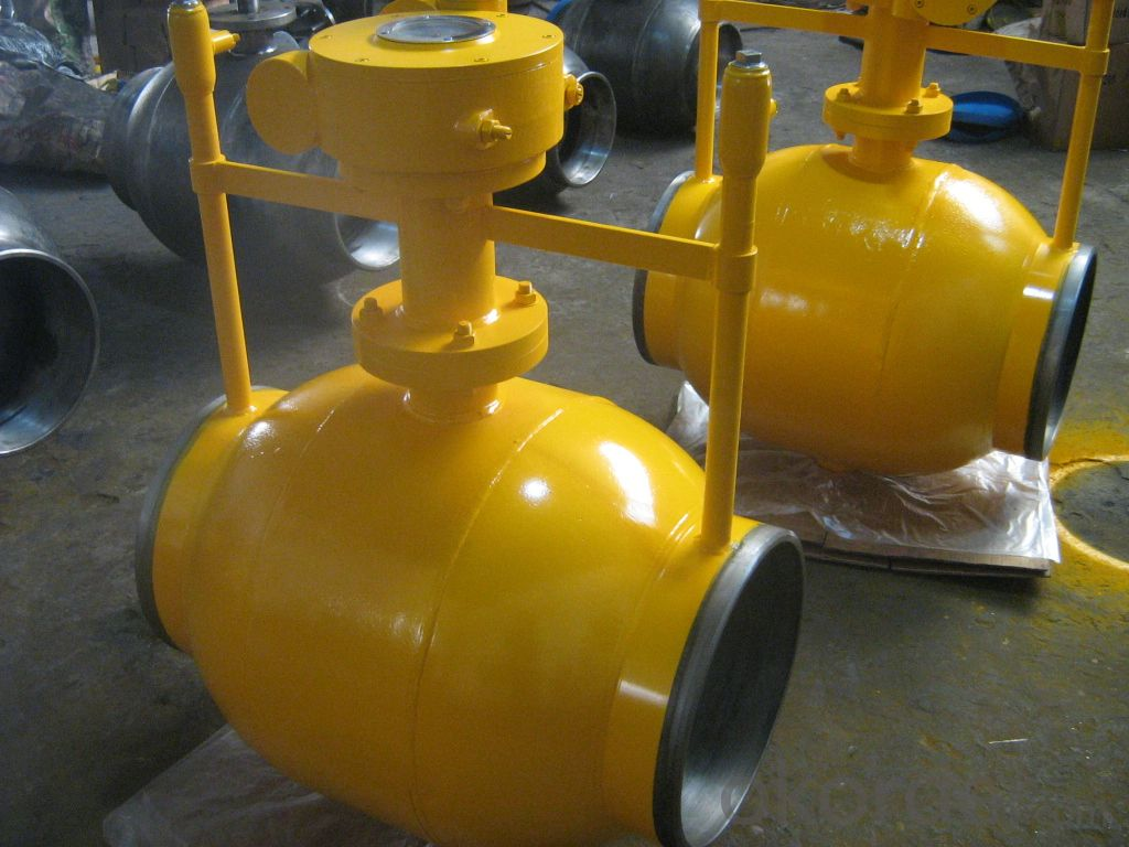 GB Carbon Steel  Ball Valve For Gas pipe
