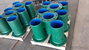 Ductile Iron Fittings comply with ISO 2531/BS EN 545/598