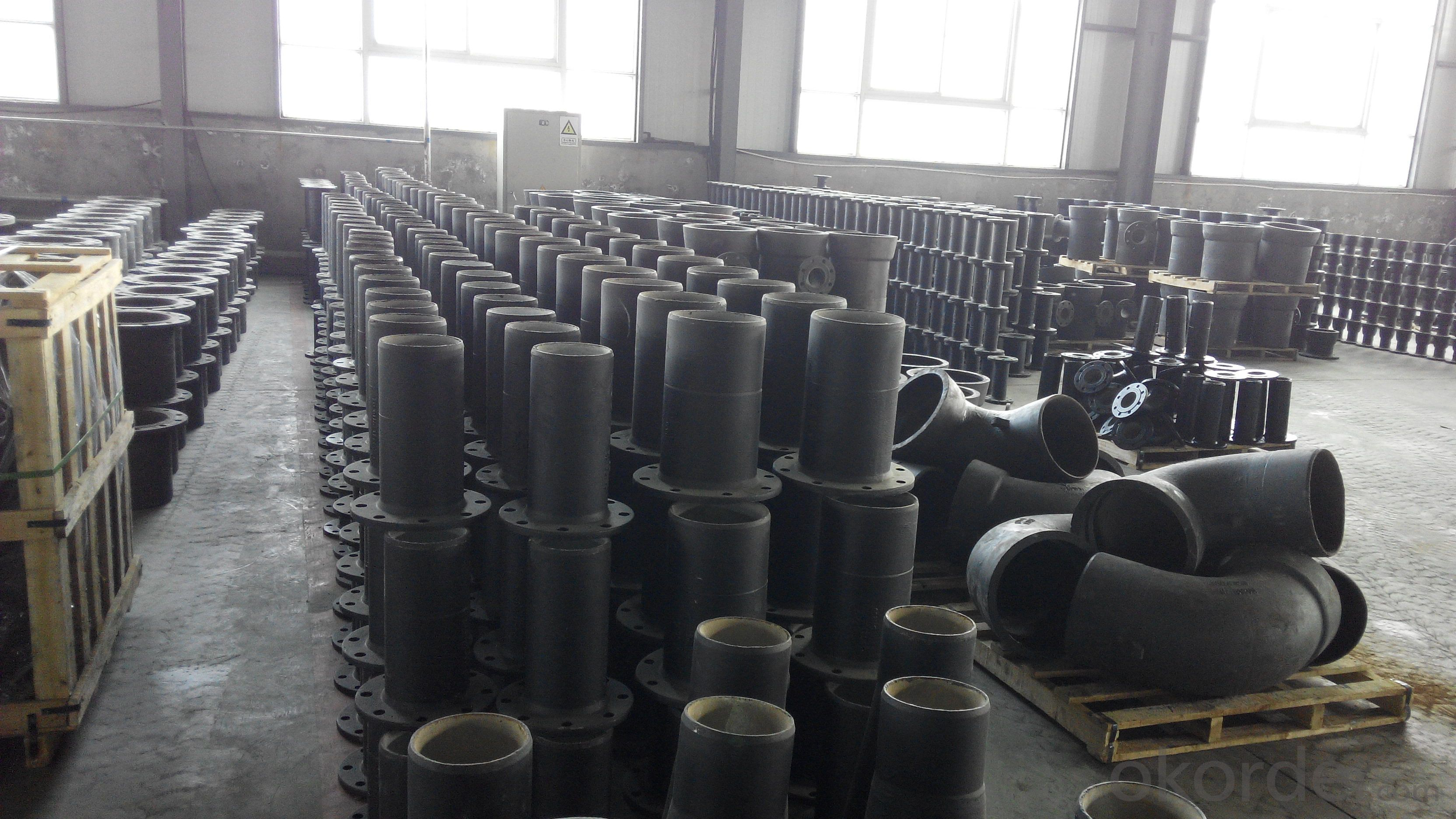 ductile cast iron pipe and fittings