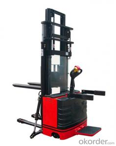 Straddle power stacker--CLH20-M