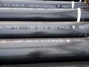 Seamless steel pipe ASTM A106/API 5L/ASTM A106 GR.B