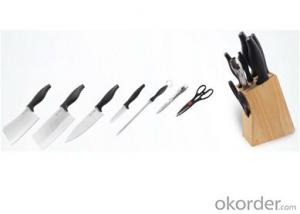 Art no. HT-KS1008  Stainless steel knife set