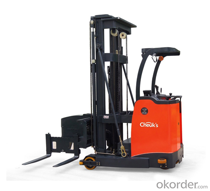 1.3 to 1.5 ton three way power stacker FBT series